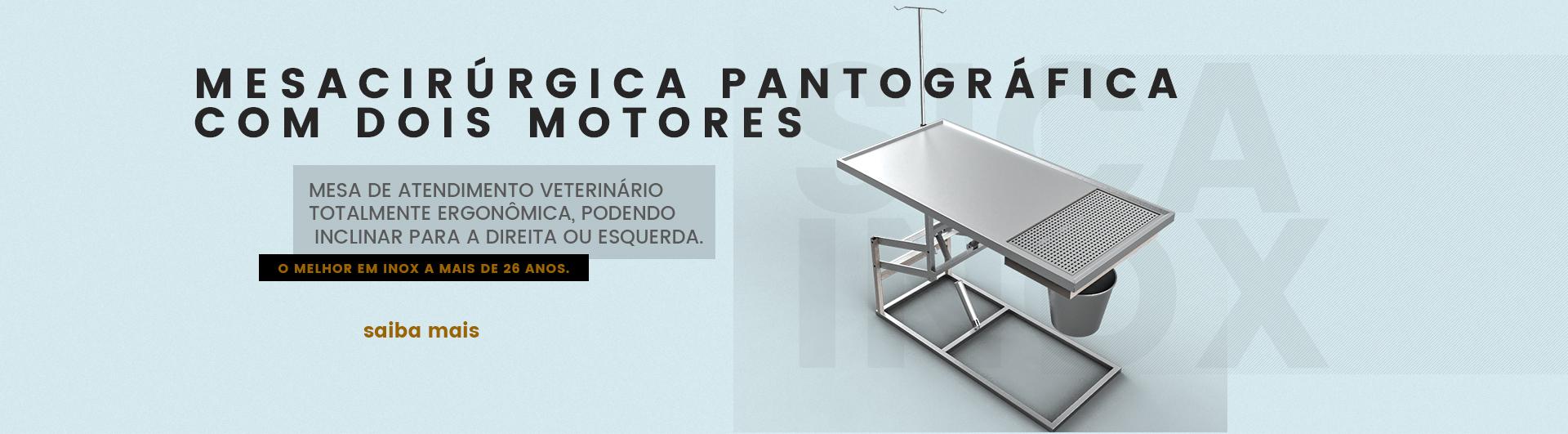 MESA CIRÚRGICA PANTOGRÁFICA COM DOIS MOTORES
