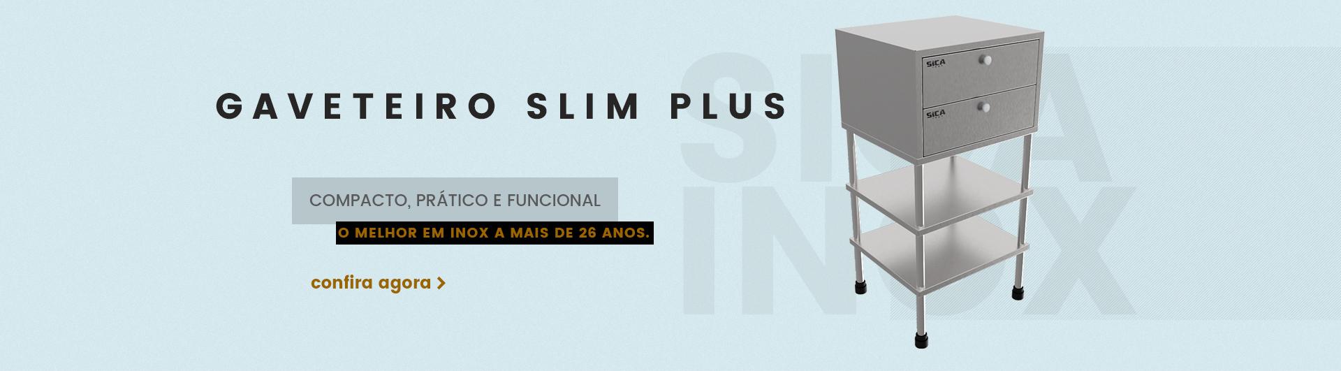 Gaveteiro Slim Plus