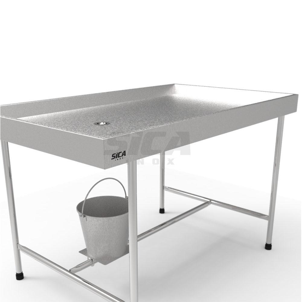 Mesa para Necropsia Veterinária